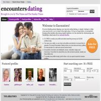 encounters dating times
